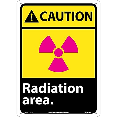 Caution, Radiation Area, 14