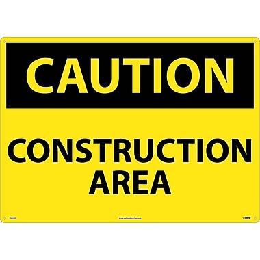 Caution, Construction Area, 20