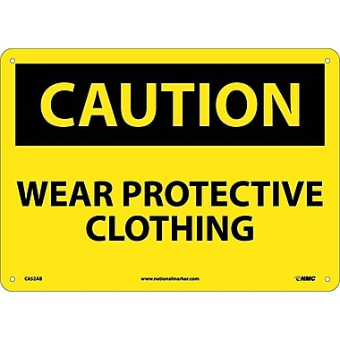 Caution, Wear Protective Clothing, 10