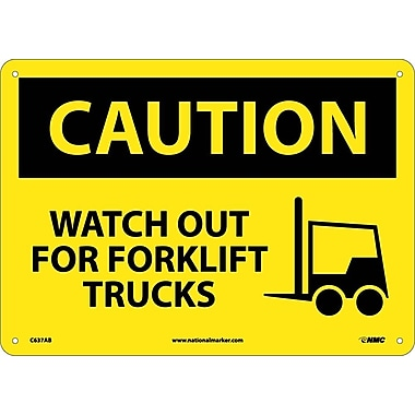 Caution, Watch Out for Fork Lift Trucks, Graphic, 10