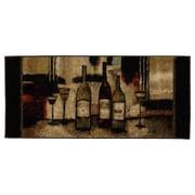 Mohawk® Wine and Glasses Nylon Rug, 20 x 45, Brown