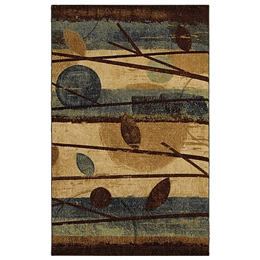 Mohawk® Modern Forest Nylon Rug, 90in. x 132in., Blue