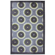 Mohawk® Rotunda Medallion Nylon Rug, 96 x 120, Lime Green