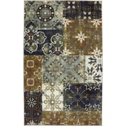 American Rug Craftsmen™ Flagstaff Summer Garden Nylon Rug, 5' x 8', Aged Blue