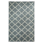 Mohawk® Fancy Trellis Nylon Rug, 96 x 120, Gray