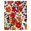 "Mohawk® Bright Floral Toss Nylon Rug, 96"" x 120"""