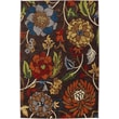 Karastan® Intermezzo Ghana Floral Nylon Rug, 5'6in. x 8'3in., Coffee Bean