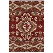 American Rug Craftsmen™ Woolrich Lodge Rust Polypropylene Rug, 5'3 x 7'10, Red