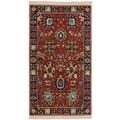 Karastan® English Manor Cambridge New Zealand Wool Rug, 3'8in. x 5', Red