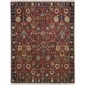 Karastan® English Manor Cambridge New Zealand Wool Rug, 5'7in. x 7'11in., Red