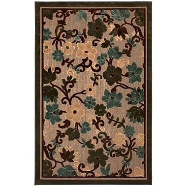 Mohawk® Indoor/Outdoor Terrace Polypropylene Rug, 96in. x 120in., Tropical Garden