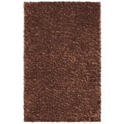 American Rug Craftsmen™ Malibu Shimmer Shag Olefin/Polypropylene Rug, 8' x 10', Copper Nugget