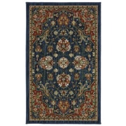 Karastan® Crossroads Duval New Zealand Wool Rug, 2'5 x 4', Indigo