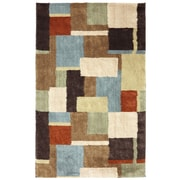American Rug Craftsmen™ Shaggy Vibes Underpainting Polypropylene Rug, 5' x 8', Coco Butter