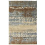 American Rug Craftsmen™ Shaggy Vibes Stratus Olefin/Polypropylene Rug, 3'4 x 5'6, Aspen Blue
