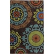 Karastan® Panache Indonesia Nylon Rug, 2'11in. x 4'8in., Coffee Bean