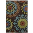 Karastan® Panache Indonesia Nylon Rug, 5'6in. x 8'3in., Coffee Bean
