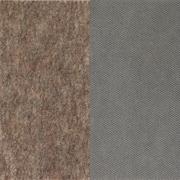Mohawk® Supreme/Premium Round Dual Surface Rug Pad, 4'10, Gray