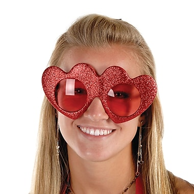 Glittered Heart Fanci-Frames, 2/Pack
