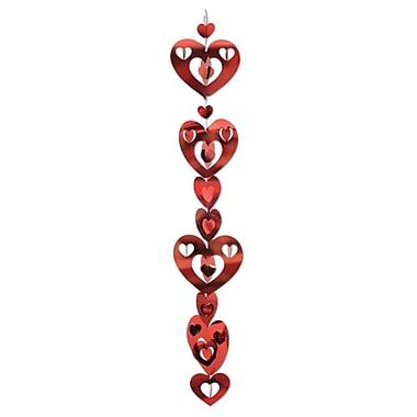 3D Prismatic Heart Gleam 'N Garland, 17
