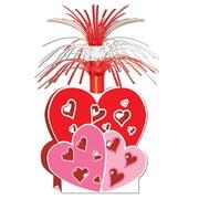 """Beistle 15"""" Valentine Centerpiece, 3/Pack"""