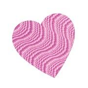 "Embossed Foil Heart Cutouts, 4"""