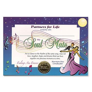 Beistle Soul Mate Certificate, 5