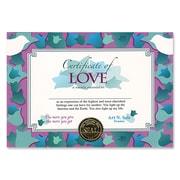 "Beistle Certificate Of Love, 5"" x 7"""