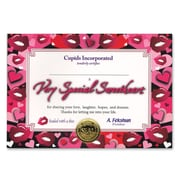 "Beistle Very Special Sweetheart Certificate, 5"" x 7"""