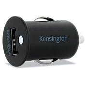 Kensington Car Charger with Powerwhiz Tablet or Smart Phone Black
