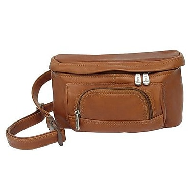 Piel Adventurer Carry-All Waist Bag; Saddle