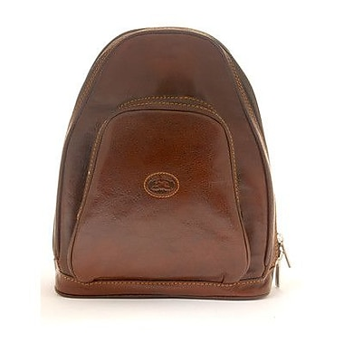 Tony Perotti Italico Monza Zip-Around Backpack; Brown