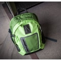 Backside Skoolit Backpack; Green