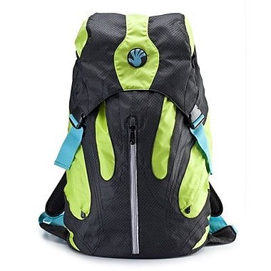 Slappa Kampus 18'' Laptop Backpack Duffle; Black / Green