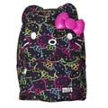 Loungefly Hello Kitty All Over Backpack; Neon