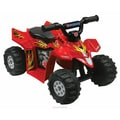 Kidz Motorz Suzuki Big ATV Ride-On in Red