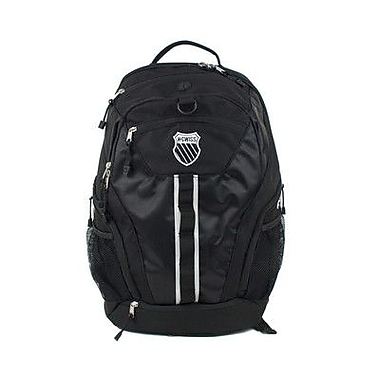 K Swiss Unisex Large Training Back Pack; Black/Black