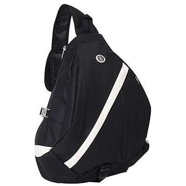 Everest 19'' Sporty Sling Backpack; Black/Beige