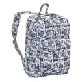 J World Ivy Campus Backpack; Frost White