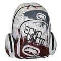 Ecko 201 Backpack; White / Black