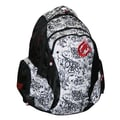 Ecko 502 Backpack; Black / White