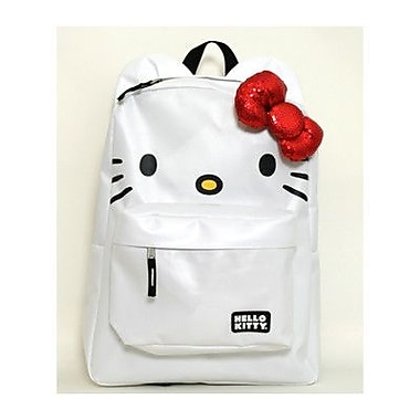 Hello Kitty Backpack with Ears in White