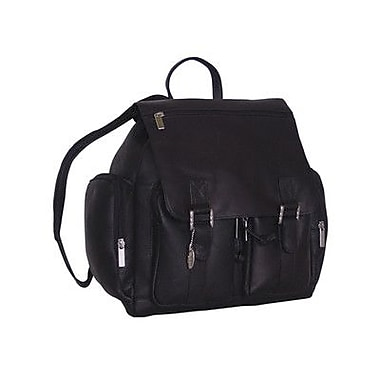David King Laptop Backpack Bag; Black