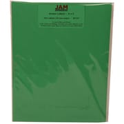 JAM Paper® Mailing Address Labels Gamma Green, 2x4, 120/Pk, 120/Pack