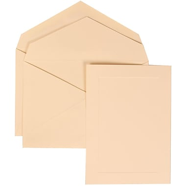 JAM Paper® Wedding Invitation Set Ivory, 50/Pack