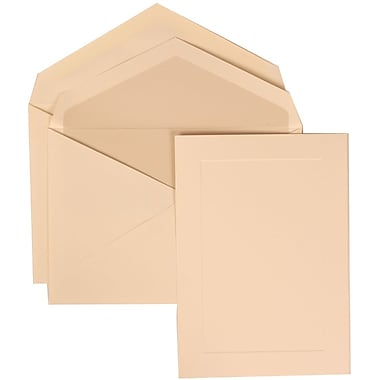 JAM Paper® Wedding Invitation Set Pearl, 50/Pack
