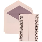 JAM Paper® Wedding Invitation Envelope Purple