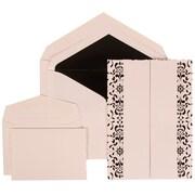 JAM Paper® Envelope Wedding Invitations Black, 150/Pack