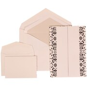 JAM Paper® Envelope Wedding Invitations Crystal, 150/Pack