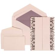 JAM Paper® Envelope Wedding Invitation Purple, 150/Pack
